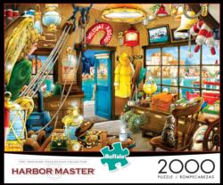 Harbor Master Seascape / Coastal Living Jigsaw Puzzle