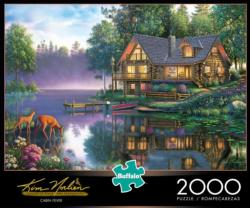 Cabin Fever Lakes / Rivers / Streams Jigsaw Puzzle