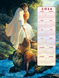 Be Not Afraid - 2014 Calendar Religious New Product - Old Stock