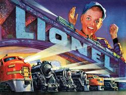 Lionel Series 1952 Graphics Jigsaw Puzzle