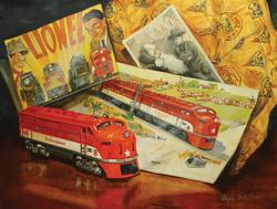Texas Special 54 Catalog Memories Trains Jigsaw Puzzle