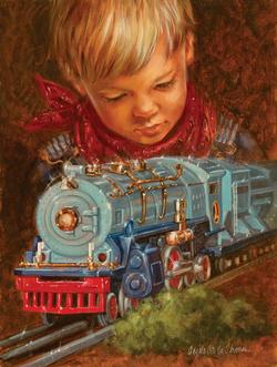 Imagination Trains Jigsaw Puzzle