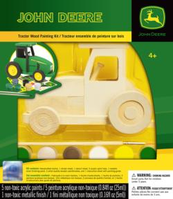 Tractor Wood Shape Activity Kits