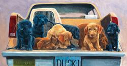 Tailgate Party Dogs Jigsaw Puzzle