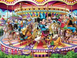 Carousel Cartoons Jigsaw Puzzle