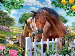 At the Gardens Gate 2 Garden Jigsaw Puzzle