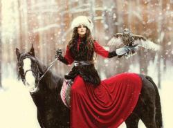 Snowy Owl (Margarita Kareva Fairy Tales) Snow Jigsaw Puzzle