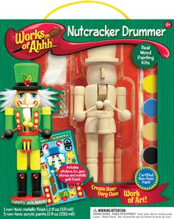 Works of Ahhh... Nutcracker Drummer Arts and Crafts