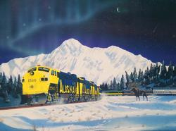 Alaskan Memories Trains Jigsaw Puzzle