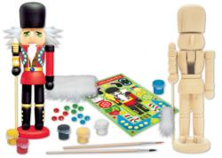 Works of Ahh... Nutcracker Guard Wood Kit Snowman Arts and Crafts