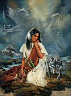 Companionship Native American Jigsaw Puzzle