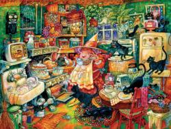 Witchin' Kitchen Kitchen Jigsaw Puzzle