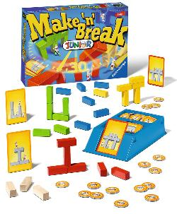 Make'n'Break Junior   Family Games Children's Games