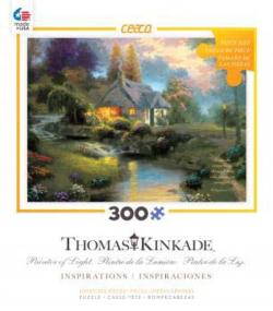 Spring at Creekside Cottage (Thomas Kinkade Inspirations) Lakes / Rivers / Streams Large Piece