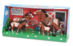 Horse Family Play Set Horses Toy