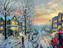 A Christmas Story (Thomas Kinkade Holiday Movies) - Scratch and Dent Movies / Books / TV Large Piece