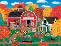Annabelle's Quilt Barn General Store Jigsaw Puzzle