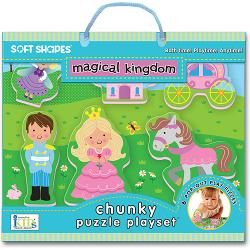 Magical Kingdom (Soft Shapes) Princess Chunky Puzzle