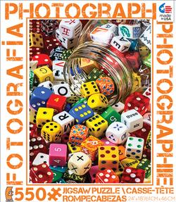 Dice (Photography) Photography Jigsaw Puzzle