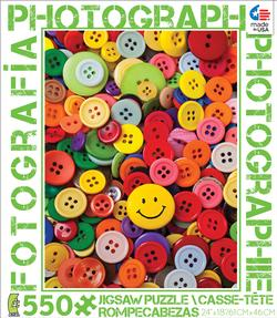 Buttons (Photography) - Scratch and Dent Photography Jigsaw Puzzle