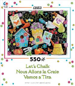 Grow Your Own (Let's Chalk) Garden Jigsaw Puzzle