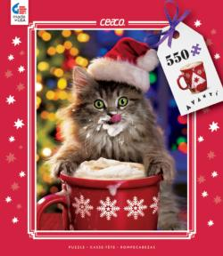 Cocoa Kitty (Holiday Avanti) Christmas Jigsaw Puzzle