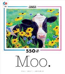 Daisy Dazer (Moo) Flowers Jigsaw Puzzle