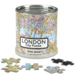 City Magnetic Puzzle London Geography Magnetic