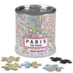 City Magnetic Puzzle Paris Paris Magnetic