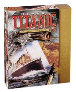 Murder on the Titanic 8x8 Murder Mystery Jigsaw Puzzle