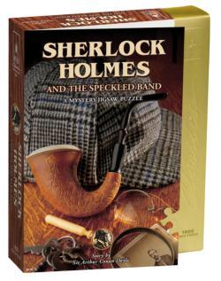 Sherlock Holmes Murder Mystery Jigsaw Puzzle