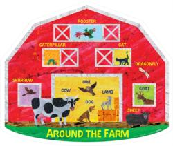 Around The Farm Farm Children's Puzzles