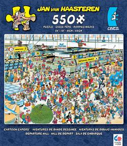 Departure Hall (Cartoon Capers) Sports Jigsaw Puzzle