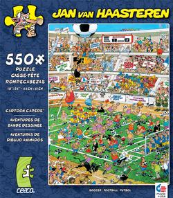 Soccer (Cartoon Capers) Sports Jigsaw Puzzle
