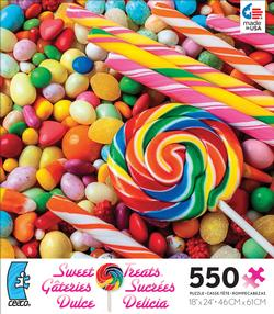 Lolli Pop (Sweet Treats) Food and Drink Jigsaw Puzzle