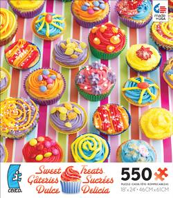 Orange Cupcakes (Sweet Treats) Food and Drink Jigsaw Puzzle