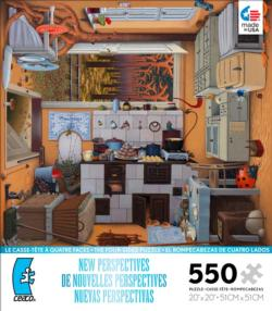 Kitchen (New Perspectives) Cottage/Cabin Jigsaw Puzzle