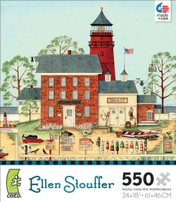The Lighthouse (Ellen Stouffer) Lighthouses Jigsaw Puzzle
