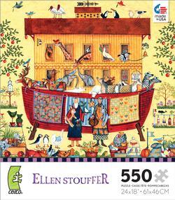 Noah's Ark (Ellen Stouffer) Religious Jigsaw Puzzle