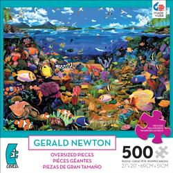 Coral Reef (500 Piece Oversized Puzzle) Marine Life Large Piece