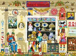 Yesterday's Treasures Nostalgic / Retro Jigsaw Puzzle