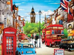London (Weekend Escape) Vehicles Jigsaw Puzzle