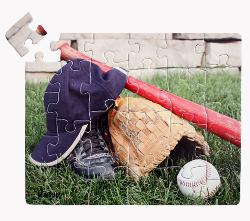 Baseball (24pc) Sports Large Piece