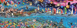 Life, The Greatest Puzzle - 24,000 Pieces Space Jigsaw Puzzle