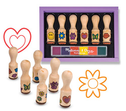 Happy Handle Stamp Set Arts and Crafts