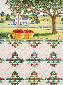Apple Tree Landscape Jigsaw Puzzle