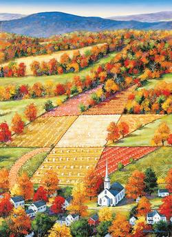 Vermont Maple Landscape Large Piece