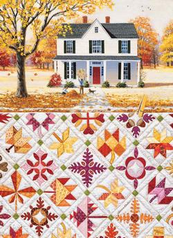Autumn Leaves Quilting & Crafts Large Piece