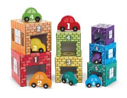 Nesting & Sorting - Garages & Vehicles Educational Toy