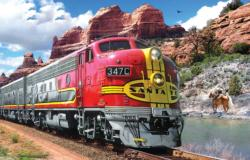 Super Chief Trains Jigsaw Puzzle